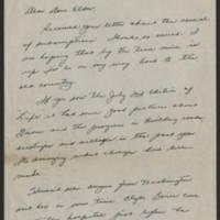 David R. Elder correspondence, August-September 1945