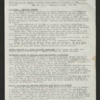 "1970-05-26 Newsletter: """"LULAC Glances"""" Page 1"