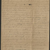 1918-02-23 Harvey Wertz to Mr. L.A. Wertz Page 1