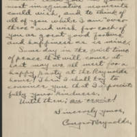 1918-01-18 Letter from Conger Reynolds Page 3
