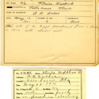 Thomas Wilmer Dewing, egg card # 320