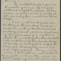 Conger Reynolds correspondence, April 1918
