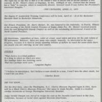 1970-04-16 Newsletter, Fort Madison Branch of the NAACP Page 2