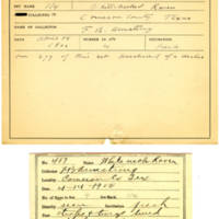 Thomas Wilmer Dewing, egg card # 391