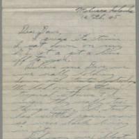 1945-02-12 Bill Hammer to Dave Elder Page 1