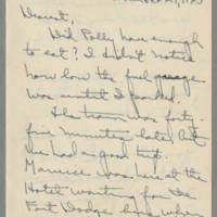 1945-11-29 Laura Davis to Lloyd Davis Page 1