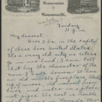 1917-12-15 Conger Reynolds to Daphne Goodenough Page 1