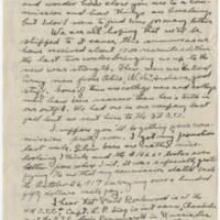 1918-06-09 Bob Browning to Karl Hoffman Page 1
