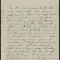 1918-07-07 Thomas Messenger to Mr. N.H. Messenger Page 3