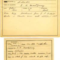 Thomas Wilmer Dewing, egg card # 289