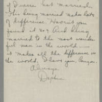 1918-08-06 Daphne Reynolds to Conger Reynolds Page 5