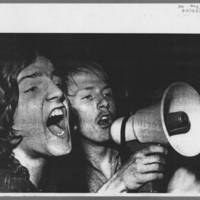 """1972-05-11 Daily Iowan Article: """"""""A look at a demonstration"""""""" Page 2"""