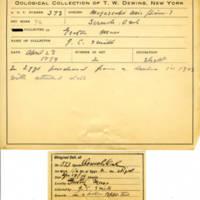 Thomas Wilmer Dewing, egg card # 645u
