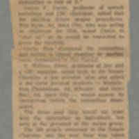 1968-12-12 Article: 'SDS In, CSC Out, Hearing Off' Page 1