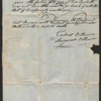 1846-11-20 Gabriel Billmire to Mannassa Meyers Page 2