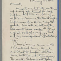 1942-02-05 Laura Davis to Lloyd Davis Page 1