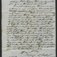 1846-09-10 Gabriel Billmire to Mannassa Meyers Page 1