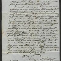 William Elmer Thorp correspondence, 1846-1868
