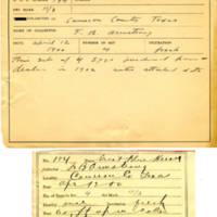 Thomas Wilmer Dewing, egg card # 141