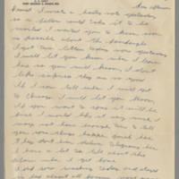 1942-11-16 Lloyd Davis to Laura Davis Page 1