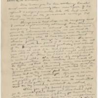1919-10-17 Robert M. Browning to Dr. Mabel C. Williams Page 1