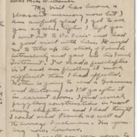1917-10-24 Robert M. Browning to Mavel C. Williams Page 1