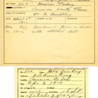 Thomas Wilmer Dewing, egg card # 203