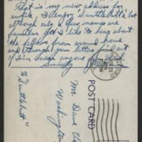 1944-11-28 Postcard - back