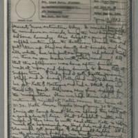 1943-06-19 Laura Davis to Lloyd Davis Page 1