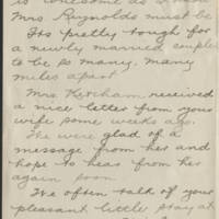 1918-04-30 W.L. Ketcham to Conger Reynolds Page 2