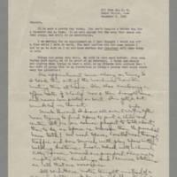 1943-12-03 Laura Davis to Lloyd Davis