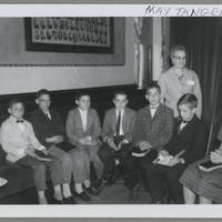 May Tangen, Sunday School, St. Mark's Odd Fellows Hall, 1961