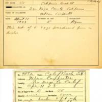 Thomas Wilmer Dewing, egg card # 824u