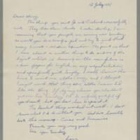 1935-07-12 Joseph Evans to Mary Evans