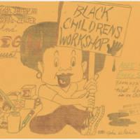 """1978-10-08 """"Black Children's Workshop"""""""