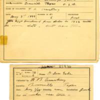 Thomas Wilmer Dewing, egg card # 007
