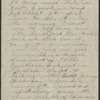 1918-07-07 Thomas Messenger to Mr. N.H. Messenger Page 2
