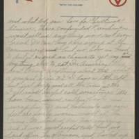 1918-01-04 Harvey Wertz to Eloise Wertz Page 2