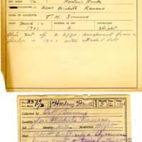 Thomas Wilmer Dewing, egg card # 224