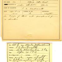 Thomas Wilmer Dewing, egg card # 546