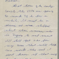 1942-01-29 Lloyd Davis to Laura Davis Page 1