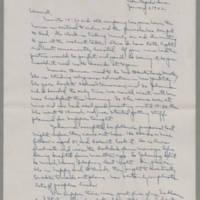 1942-01-03 Laura Davis to Lloyd Davis Page 1