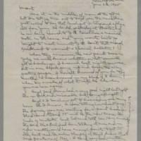 1945-06-22 Laura Davis to Lloyd Davis Page 1
