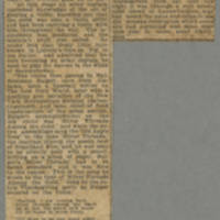 "1918-01-03 Des Moines Register Clipping: """"Conger Reynolds Wielded Big Blue Pencil On War Reporters"""" Page 1"