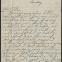 1917-10-28 Harvey Wertz to Mr. L.A. Wertz Page 1