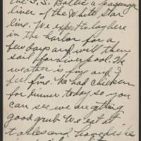 1917-12-21 Harvey Wertz to Mr. L.A. Wertz Page 1