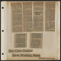 Day Care Centers Serve Working Moms