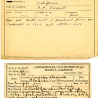 Thomas Wilmer Dewing, egg card # 326