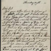 1917-10-11 Harvey Wertz to Miss Dorothy Wertz Page 1