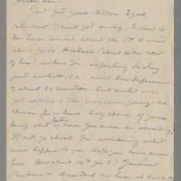 1945-07-22 Johnnie Johnson to Helen Fox Page 1